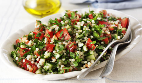 Giant Couscous Tabouleh
