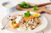 Salmon with Coriander